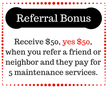 lawn care referral bonus